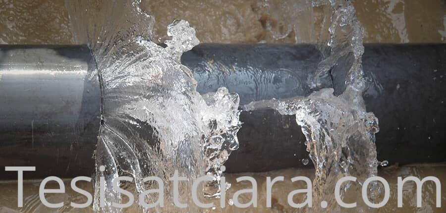Cihazla kırmadan su kaçağı tespiti