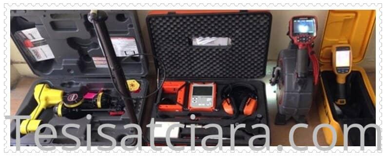 Akustik dinleme cihazlarıyla su kaçağı tespiti